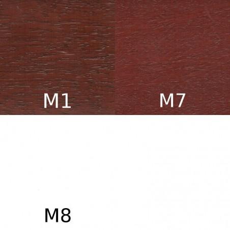 Grunt Urzędowski, kolor Mahoń M1, M4, M7, M8