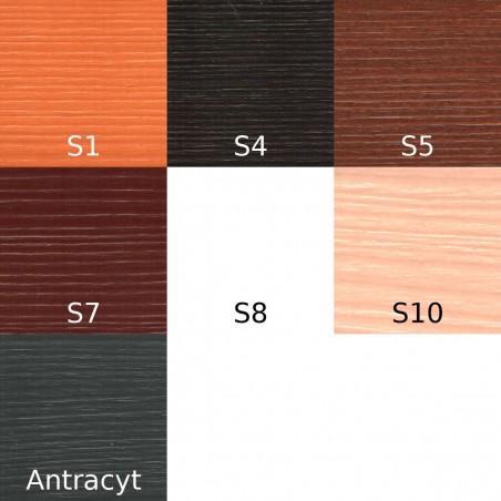 Lakier Urzędowski, kolor Sosna S1, S4, S5, S7, S8, S10, Antracyt